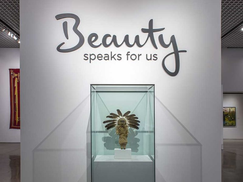 Beauty by Heard Museum with Custom Design and Fabrication by CK Valenti