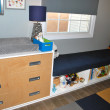 Nursery - changing table and bench