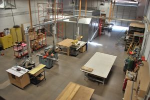 CK Valenti's Workshop Where We Build Custom Cabinets and More